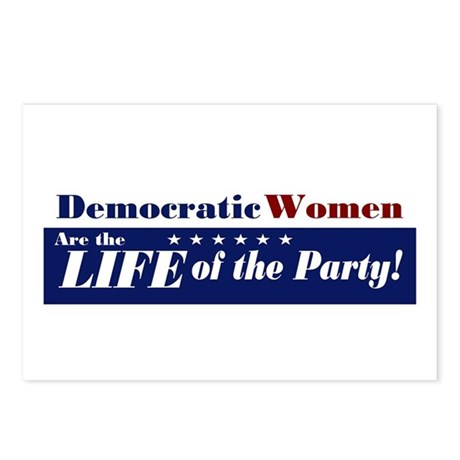 Democratic Women Postcards (Package of 8)