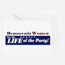 Democratic Women Greeting Card