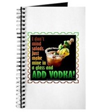 BLOODY MARY? ADD VODKA! Journal