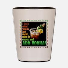 BLOODY MARY? ADD VODKA! Shot Glass