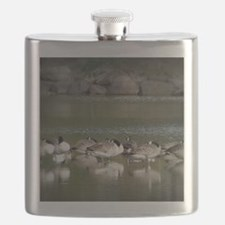 Unique Wild geese Flask