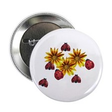 "Ladybug Party 2.25"" Button"