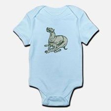 Greyhound Dog Racing Side Etching Body Suit
