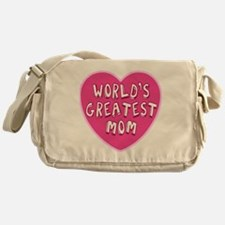 Worlds Greatest Mom Messenger Bag