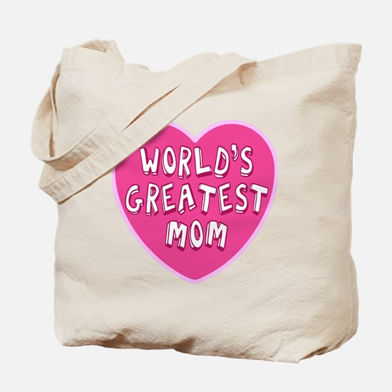 Worlds Greatest Mom Tote Bag