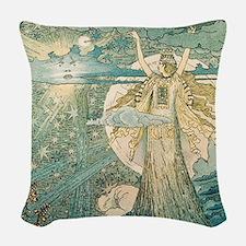 Enchantment Woven Throw Pillow