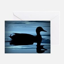 Cool Ducks unlimited Greeting Card
