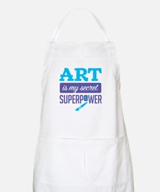 Art is My Secret Superpower Apron