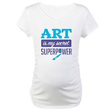 Art is My Secret Superpower Shirt