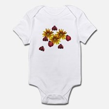 Ladybug Party Infant Bodysuit