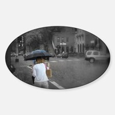 Cute Stillwater girl Sticker (Oval)
