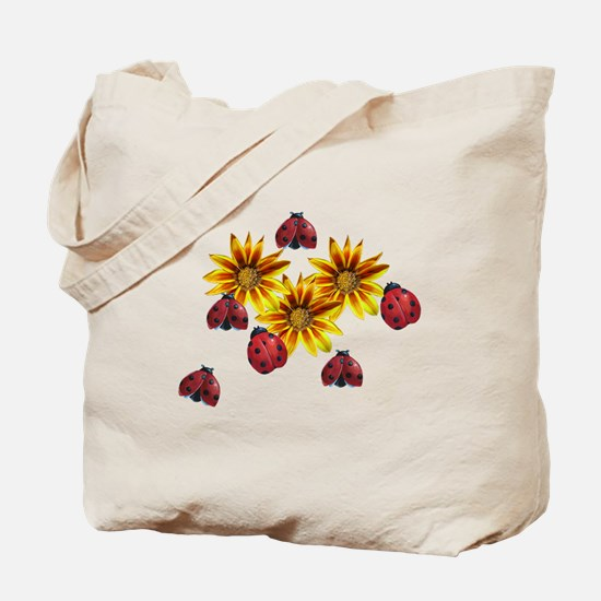 Ladybug Party Tote Bag
