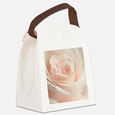 Soft Rose Canvas Lunch Bag