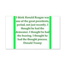 donald trump quote Wall Decal
