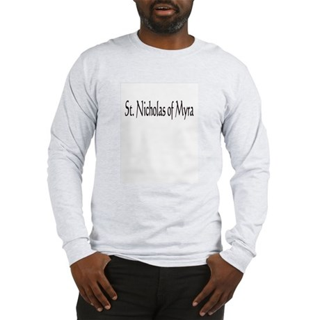 St. Nicholas of Myra Long Sleeve T-Shirt