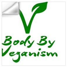 Body By Veganism Wall Decal
