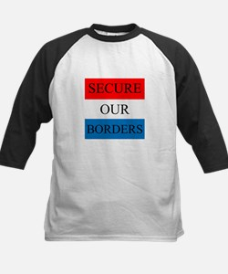 Secure Our Borders Baseball Jersey