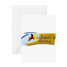 MICHAELS ARMY Greeting Cards