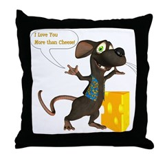 Rattachewie - Throw Pillow