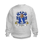 Amour Family Crest  Kids Sweatshirt