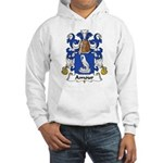 Amour Family Crest Hooded Sweatshirt