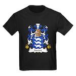 Amiot Family Crest Kids Dark T-Shirt
