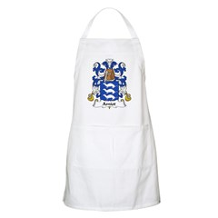 Amiot Family Crest BBQ Apron