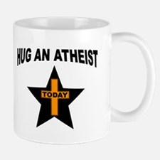 ATHEIST HUGS Mugs