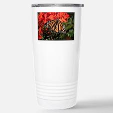 Honeysuckle Monarch But Stainless Steel Travel Mug