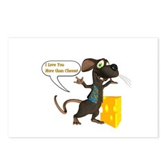 Rattachewie - Postcards (Package of 8) 6x4