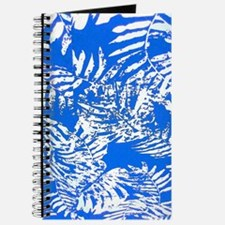 White Palm Leaves Journal