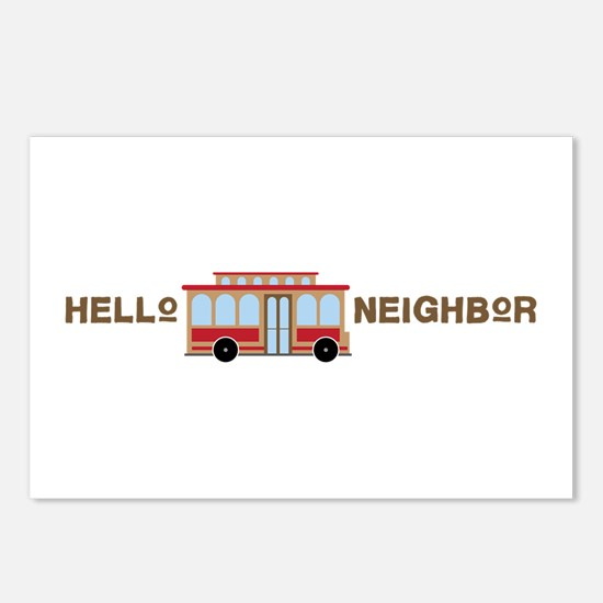 Hello Neighbor Postcards (Package of 8)