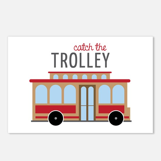 Catch The Trolley Postcards (Package of 8)