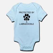 Protected By A Labradoodle Body Suit