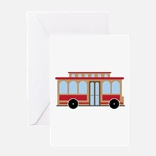 Trolley Greeting Cards