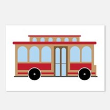 Trolley Postcards (Package of 8)