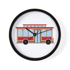 Trolley Wall Clock