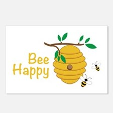 Bee Happy Postcards (Package of 8)