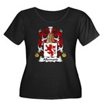 Allemand Family Crest Women's Plus Size Scoop Neck