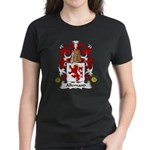 Allemand Family Crest Women's Dark T-Shirt