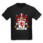 Allemand Family Crest Kids Dark T-Shirt