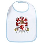Allemand Family Crest Bib