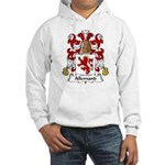 Allemand Family Crest Hooded Sweatshirt