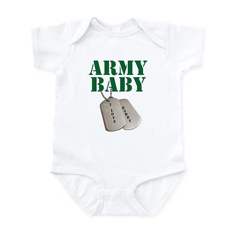 Army Baby - Daddy Infant Bodysuit