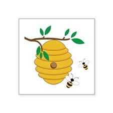Bee Hive Sticker