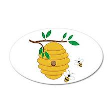 Bee Hive Wall Decal