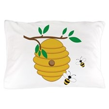 Bee Hive Pillow Case