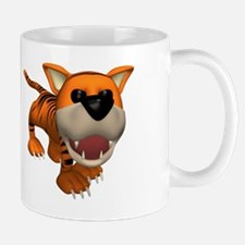Cute Roaring Baby Tiger Mug