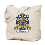 Alleaume Family Crest  Tote Bag