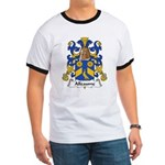 Alleaume Family Crest  Ringer T